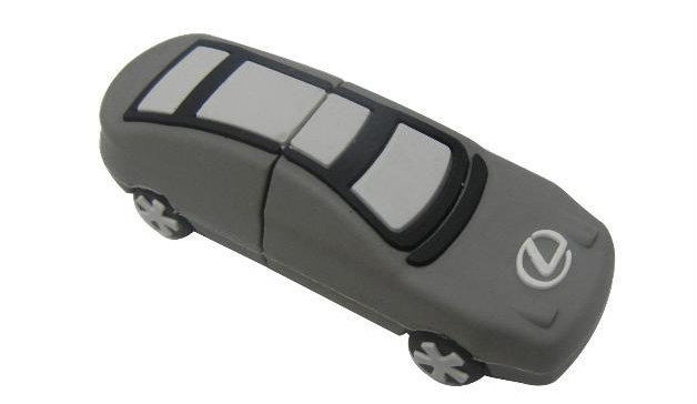 car shaped branded flash memory