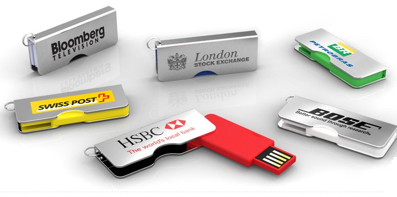 Swivel Custom USB drive
