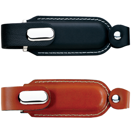 leather custom usb drives