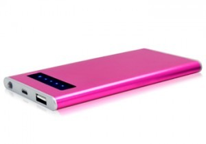 pink custom powerbank