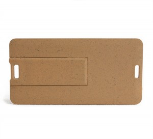 Recycled Paper Credit Card USB Drive