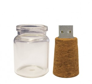 Bottle and Cork USB Drive