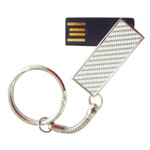 swivel keychain custom usb drive
