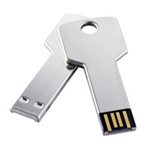 key shaped custom usb drives